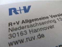 Ausschnitt aus dem Brief der R+V