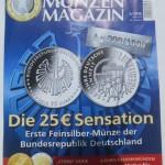Deutsches Münzen Magazin Mai/Juni 2015 zu verkaufen