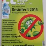 Hier kaufen —  C´t Magazin Ausgabe 14 2015 vom 13.06.2015