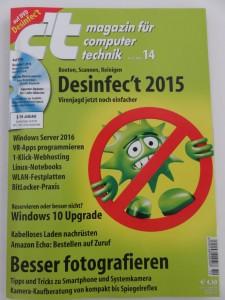 Cover CT Magazin 14 2015
