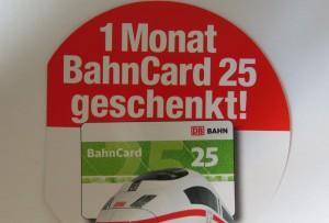 Nutella Bahncard 25 Gutschein