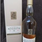 Seltener, limitierter Whisky Rosebank 21 1990 – 2011