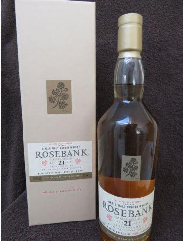 Zu Verkaufen Original Abfüllung Rosebank 21 1990 bis 2011