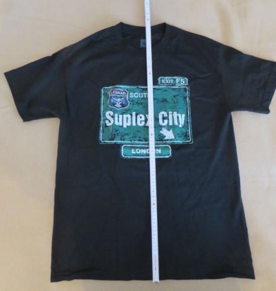 Suplex City London Brock Lesnar  T-Shirt  Größe L jetzt und hier neu und original kaufen