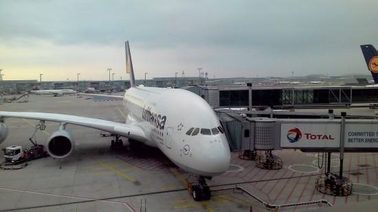 A380 800 von Frankfurt nach LA