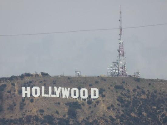 Das Hollywood Zeichen / Der Hollywood Schriftzug