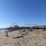 Strandtag am Santa Monica Strand Los Angeles