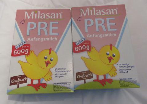 Zwei Pakete Milasan Pre Anfangsmilch kaufen