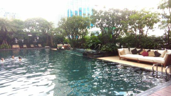 Hier ein Foto des Pools vom Hotel Grande centre point