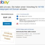 AV100.de kaufen – Ebay Preisvorschlag senden