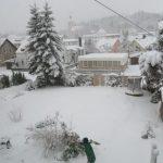Ganz viel Schnee in Thalheim