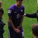 Philipp Zulechner verletzt ausgewechselt