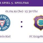 Holstein Kiel gegen FC Erzgebirge Aue ⚒️